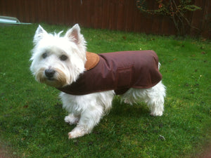 Chestnut Wax Coat