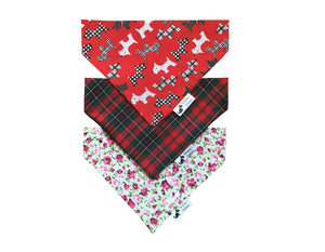 Red Mix Bandana 3 Pack