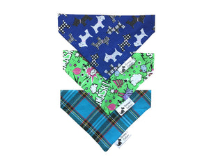 Blue Mix Bandana 3 Pack