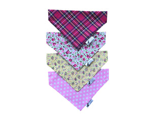 Floral Mix Bandana 4 Pack
