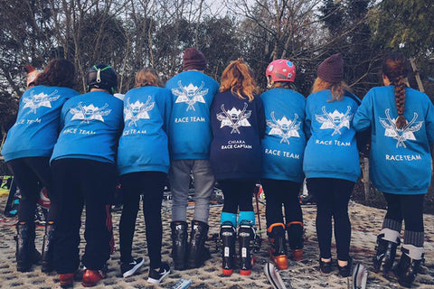 Queen Mary Snow Race Sweats
