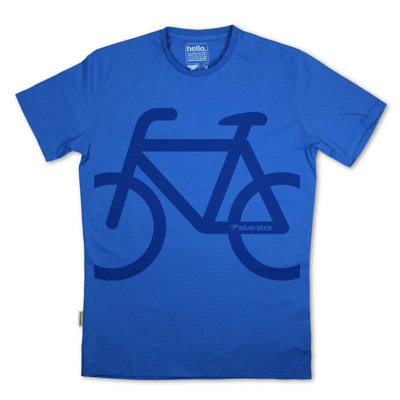 bike organic cotton t shirt