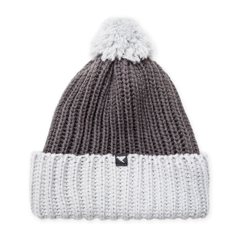snowdon merino wool bobble hat