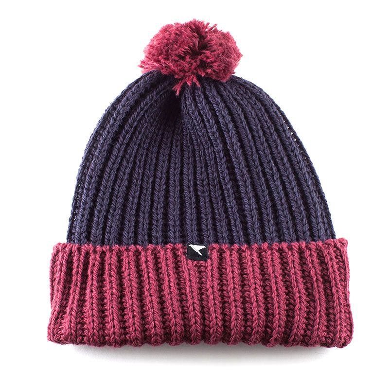 mens merino wool bobble hat