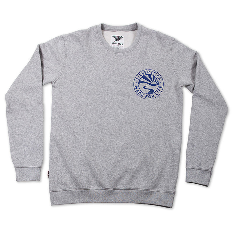roundel organic cotton sweat