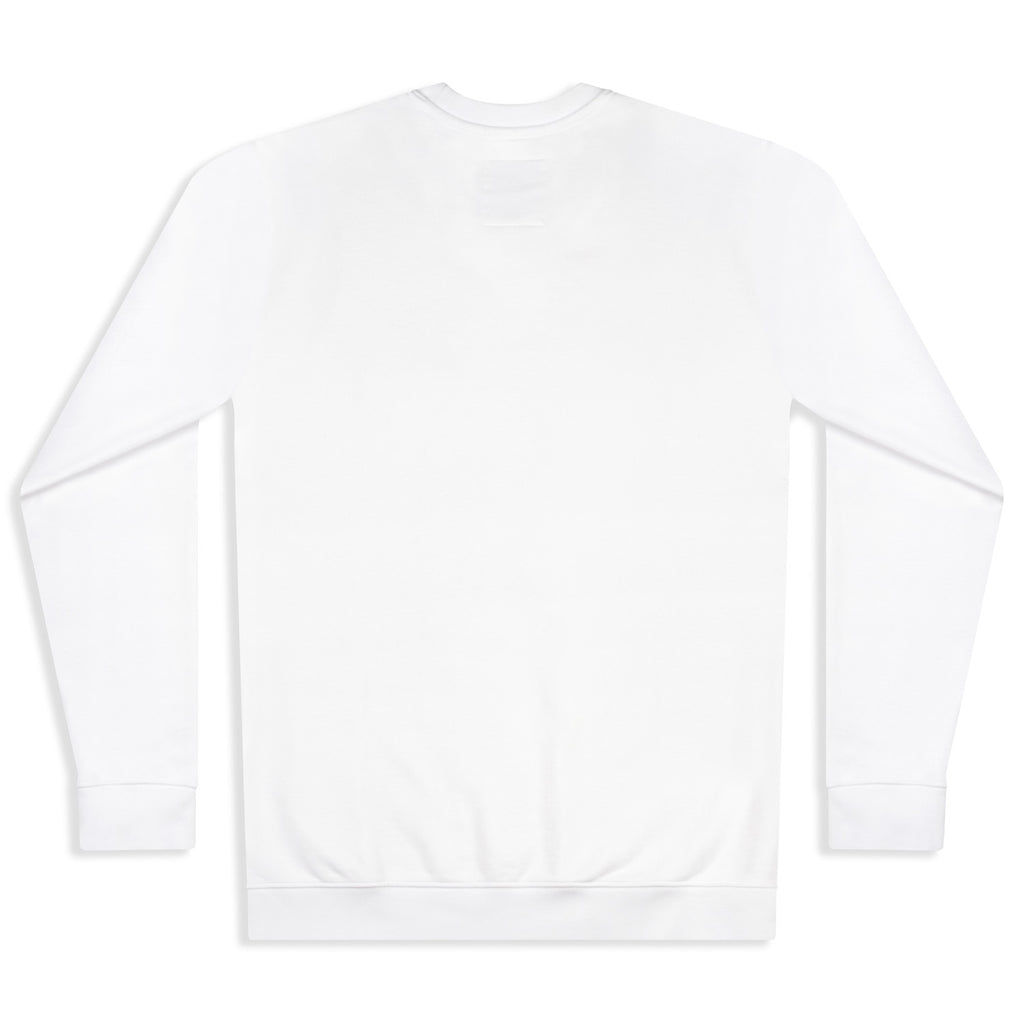 silverstick mens organic cotton sweat arugam white back