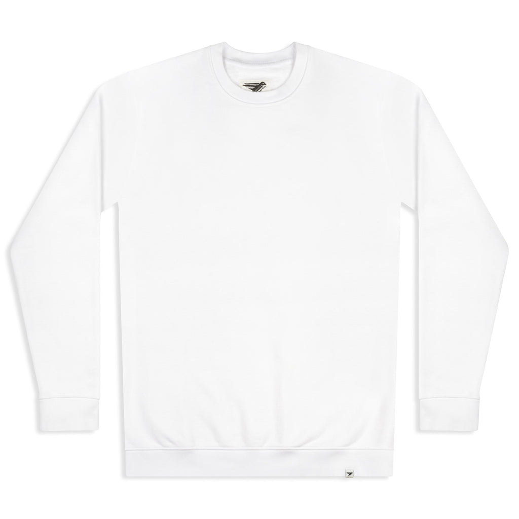 silverstick mens organic cotton sweat arugam white front