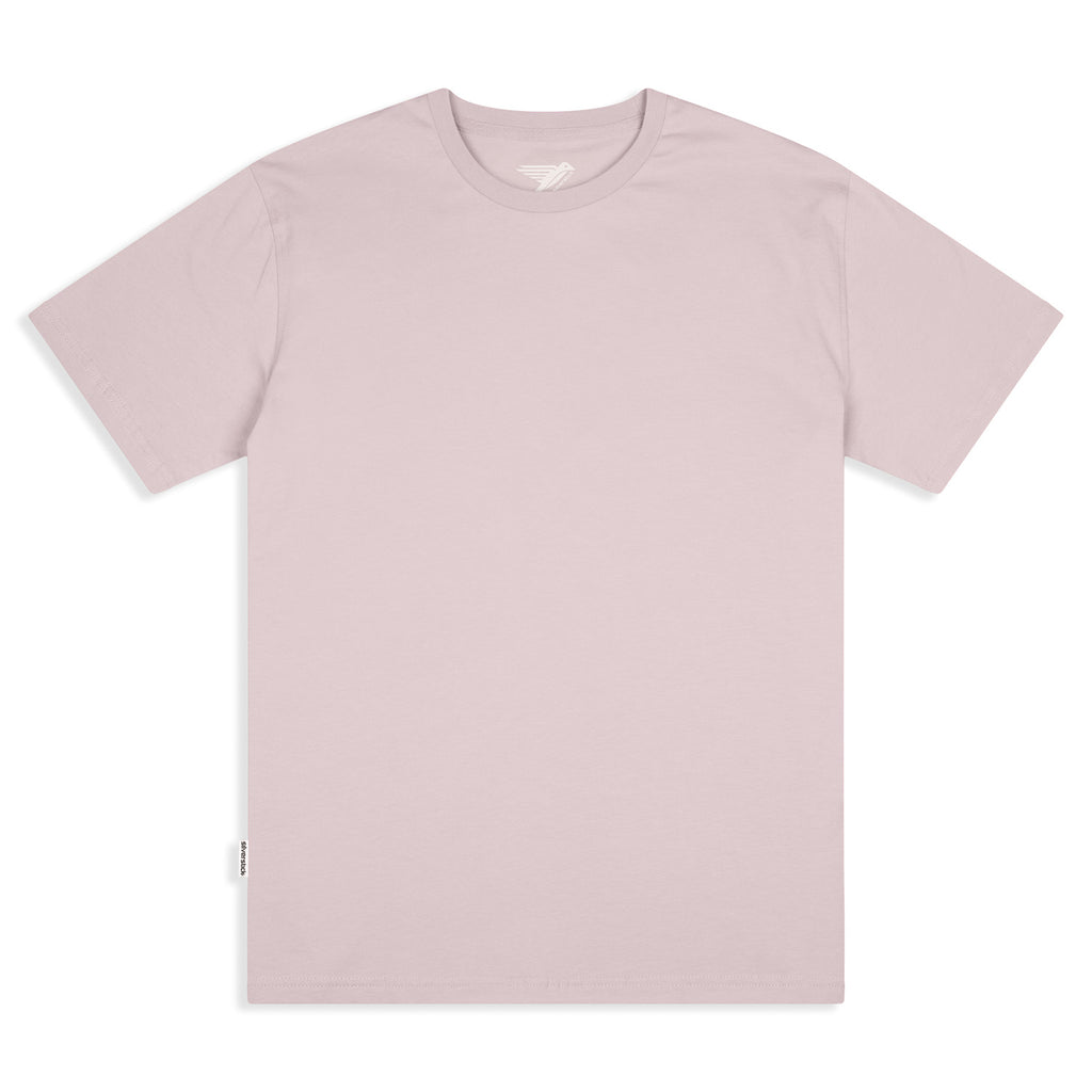 Silverstick Mens Adventure Organic Cotton T Shirt Pale Lilac Front
