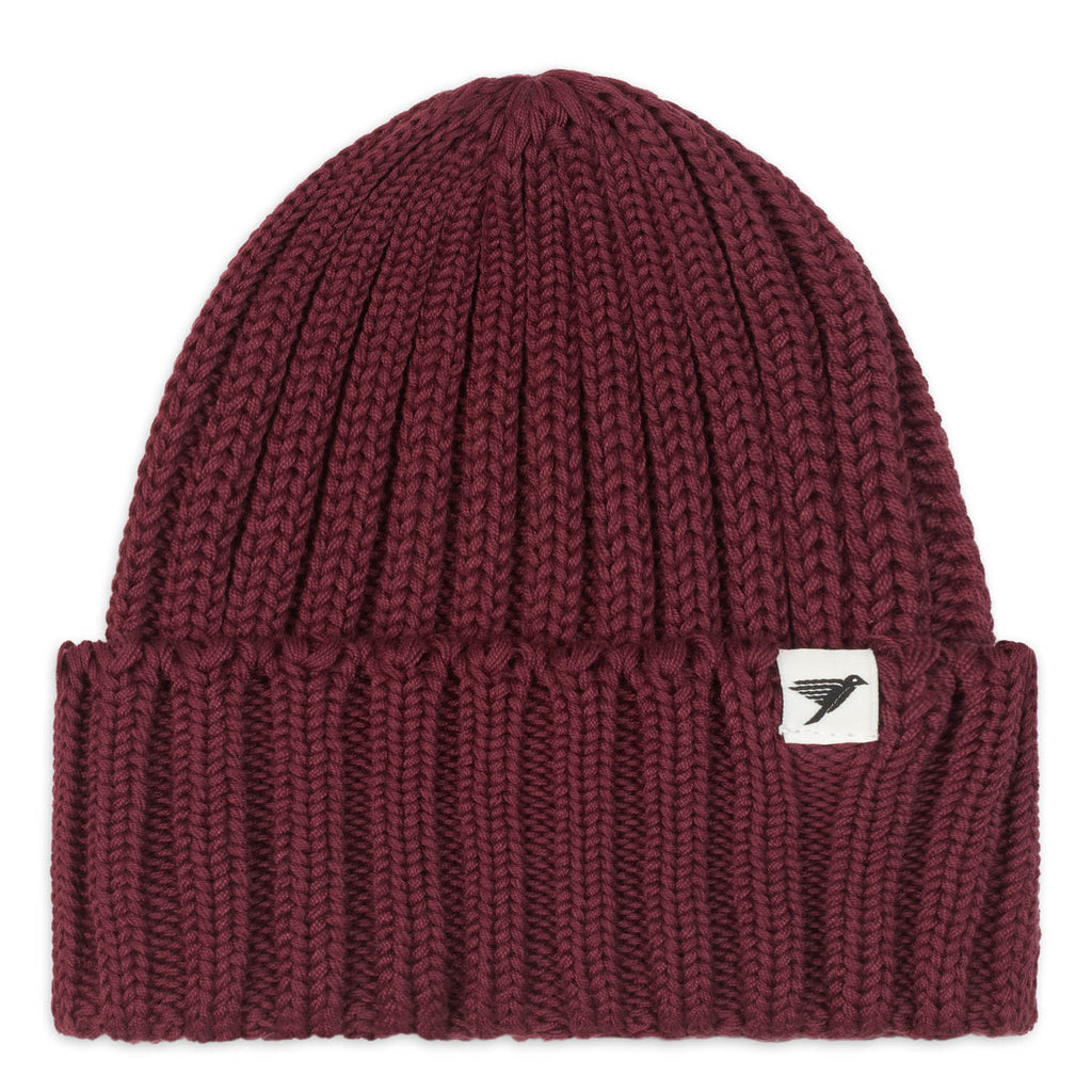 Silverstick Summit Heavyweight Organic Cotton Beanie Port