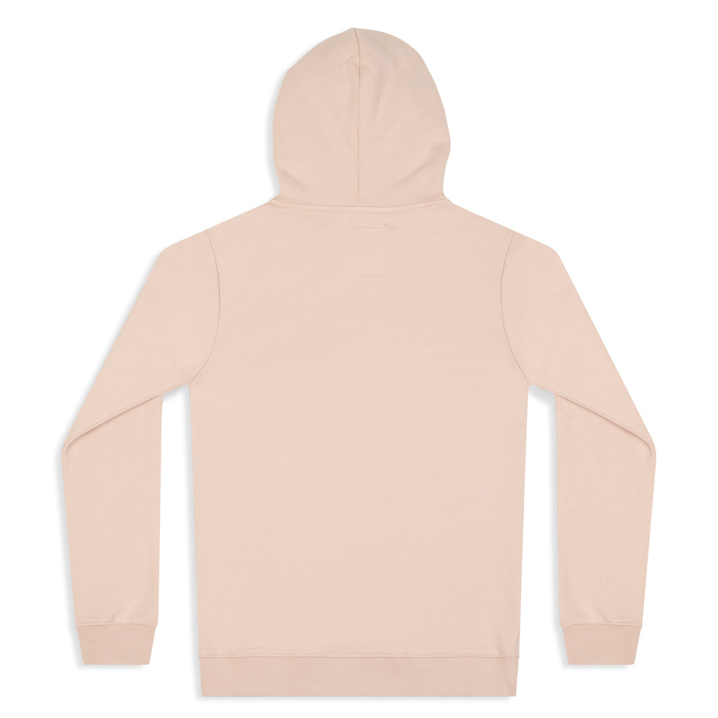 silverstick womens organic cotton hoodie lancelin faded pink back