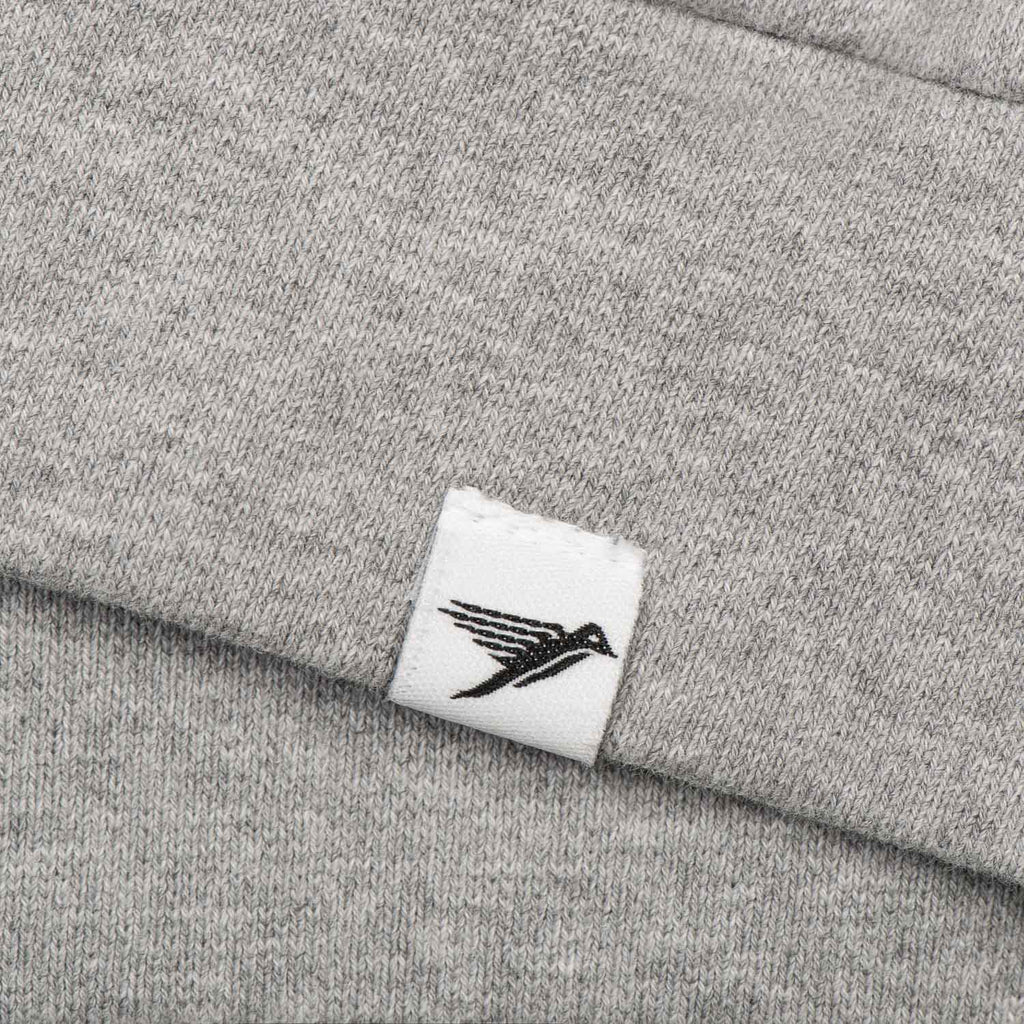 Silverstick mens matt sewell Goldfinch organic cotton sweat back label