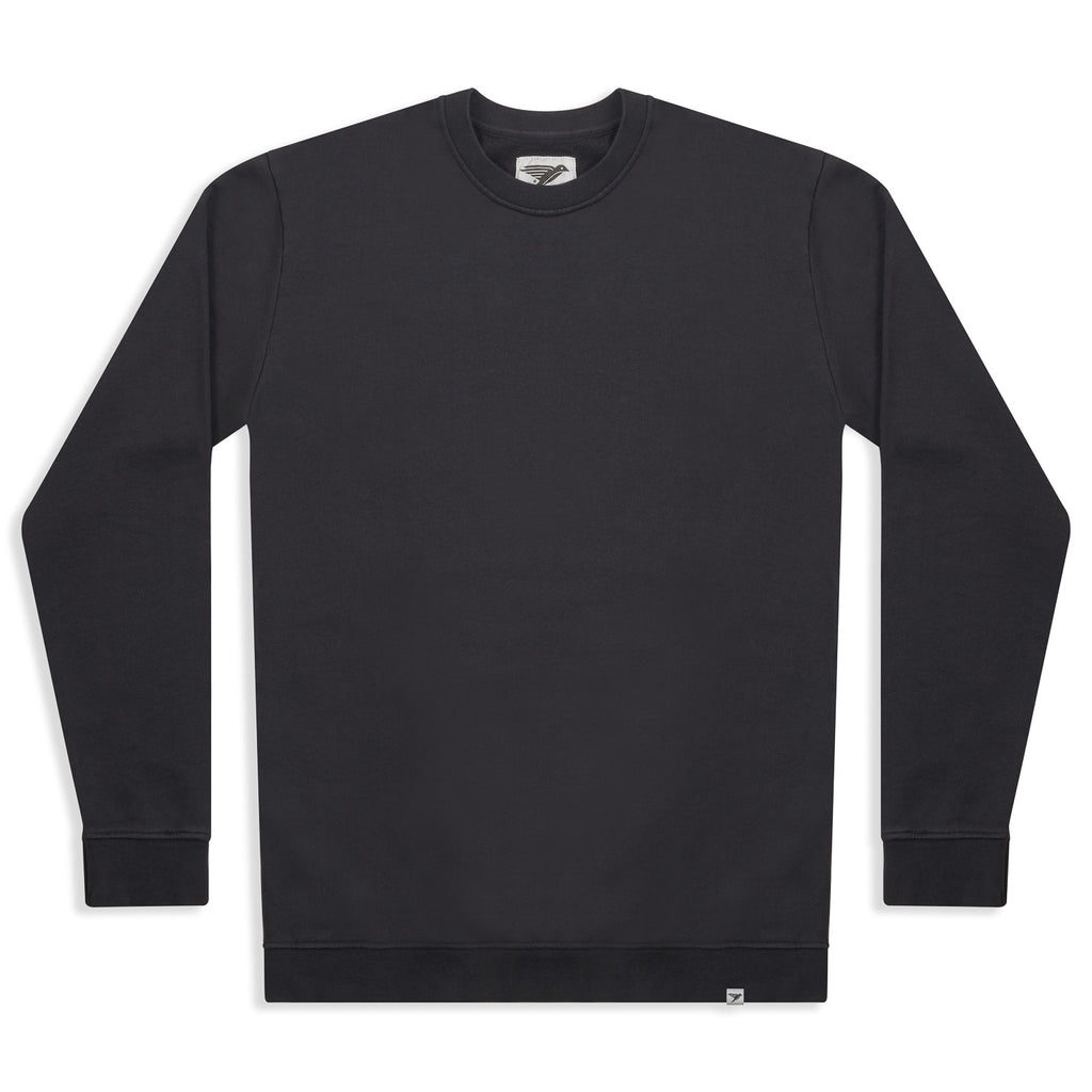 silverstick mens organic cotton sweat arugam charcoal front