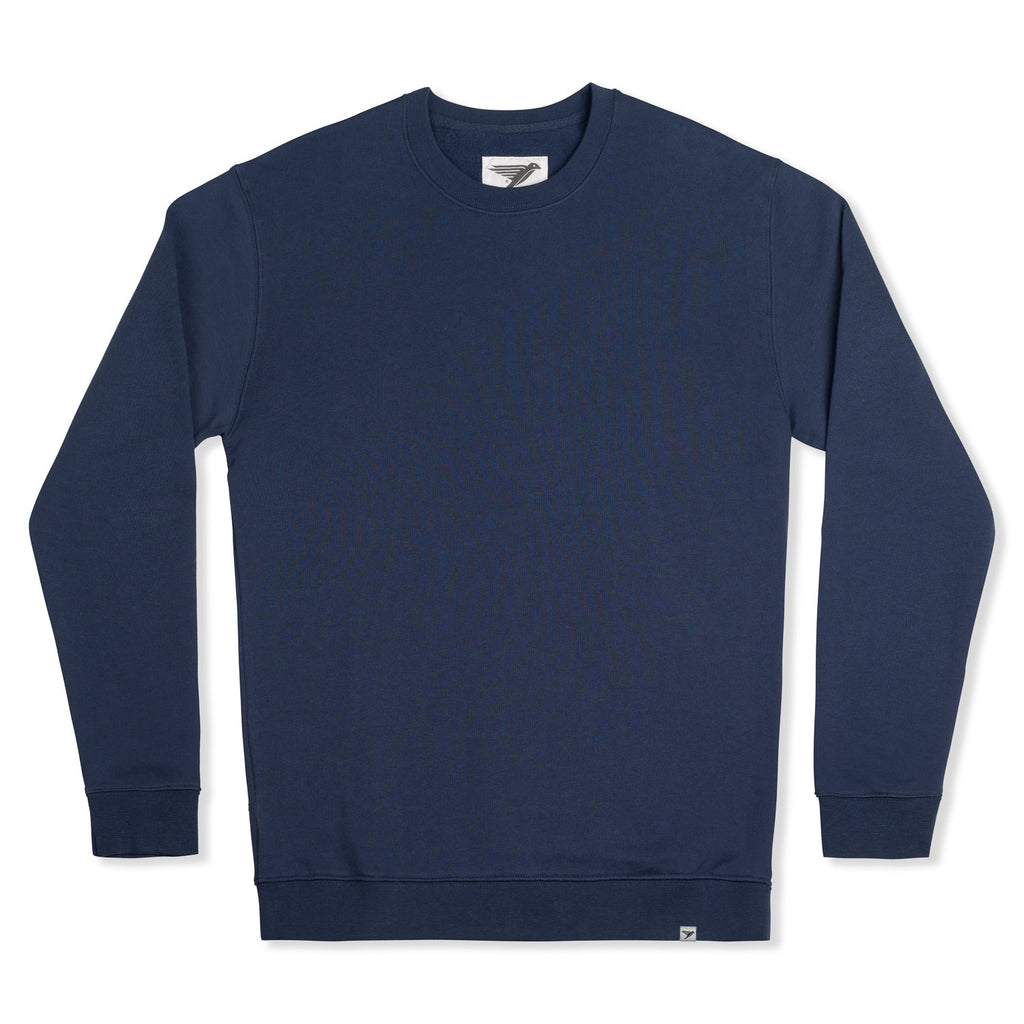 silverstick mens organic cotton sweat arugam navy front