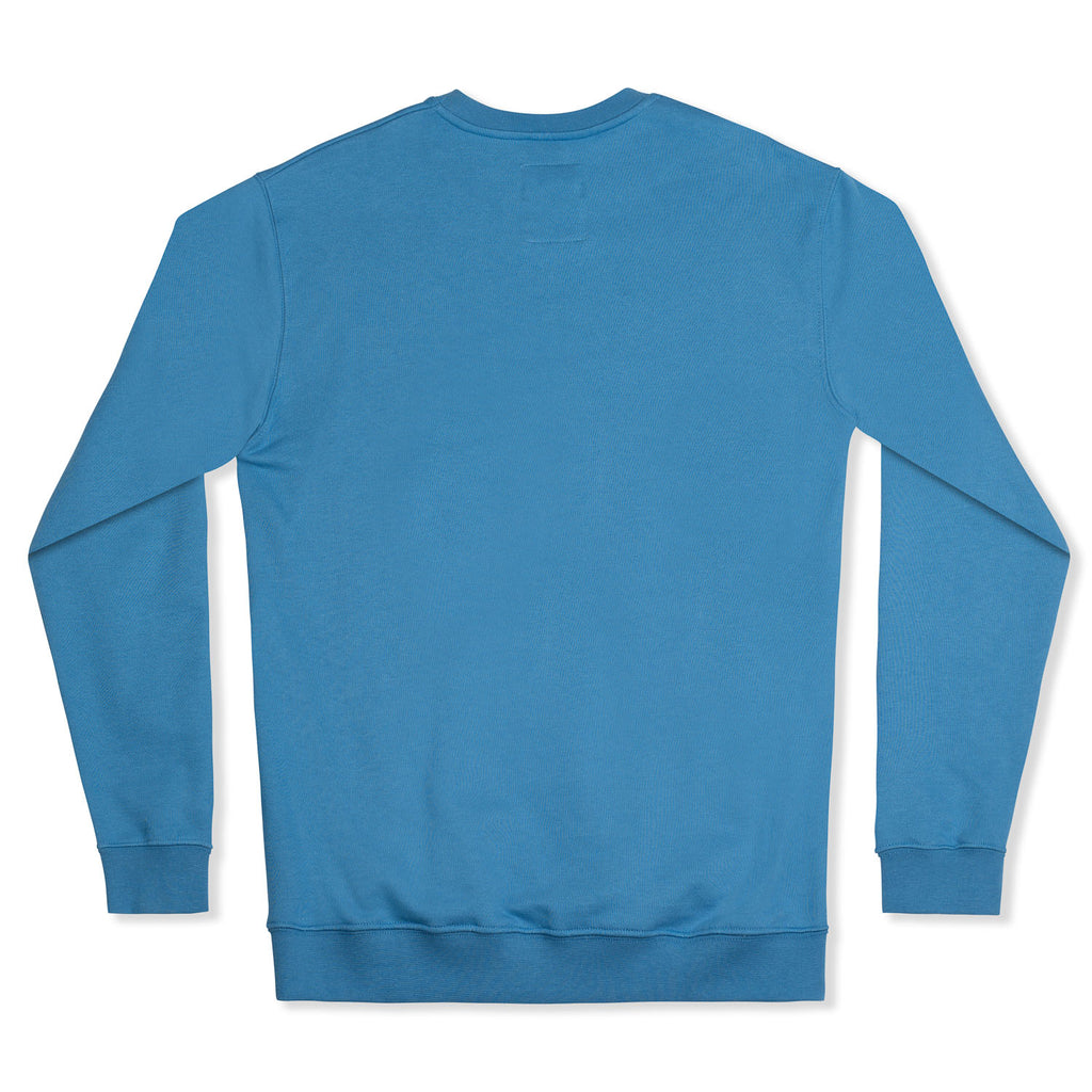 silverstick mens organic cotton sweat arugam ocean blue back