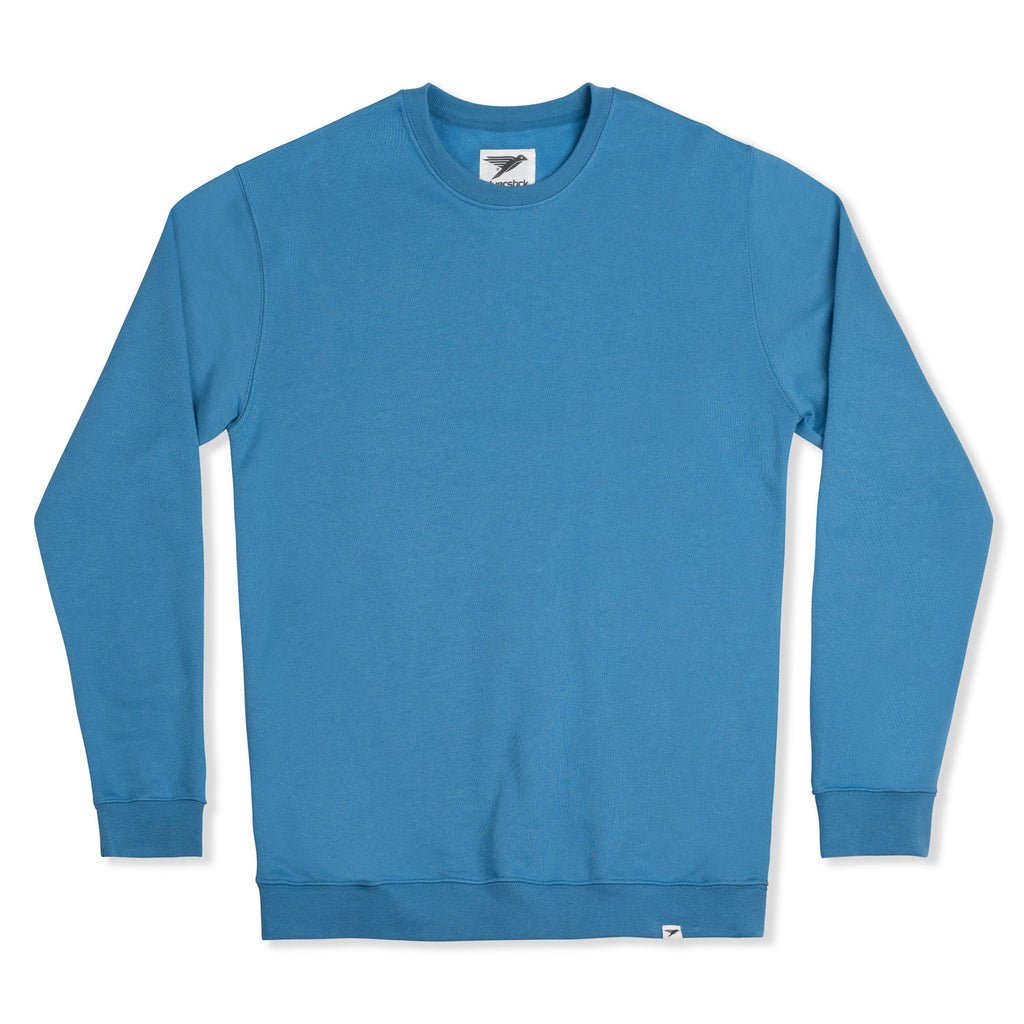 silverstick mens organic cotton sweat arugam ocean blue front