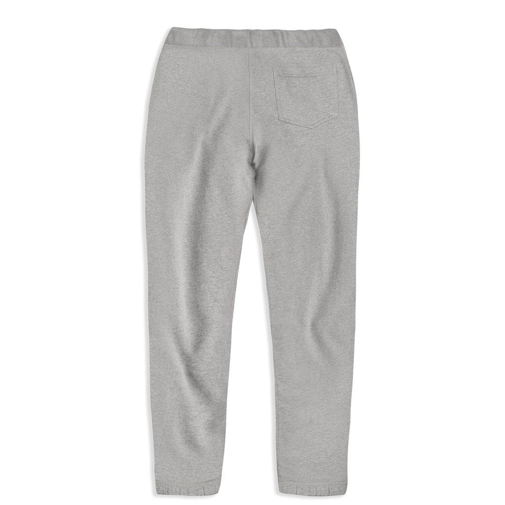 silverstick mens organic cotton sweatpant johnson ash marl back