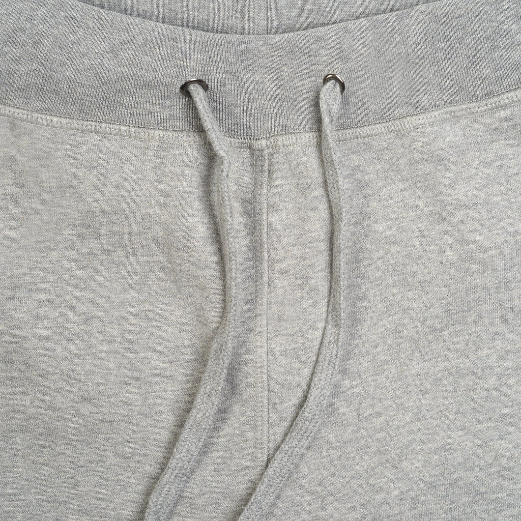 silverstick mens organic cotton sweatpant johnson ash marl detail