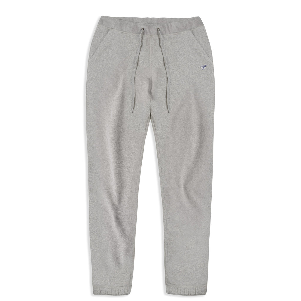 silverstick mens organic cotton sweatpant johnson ash marl front