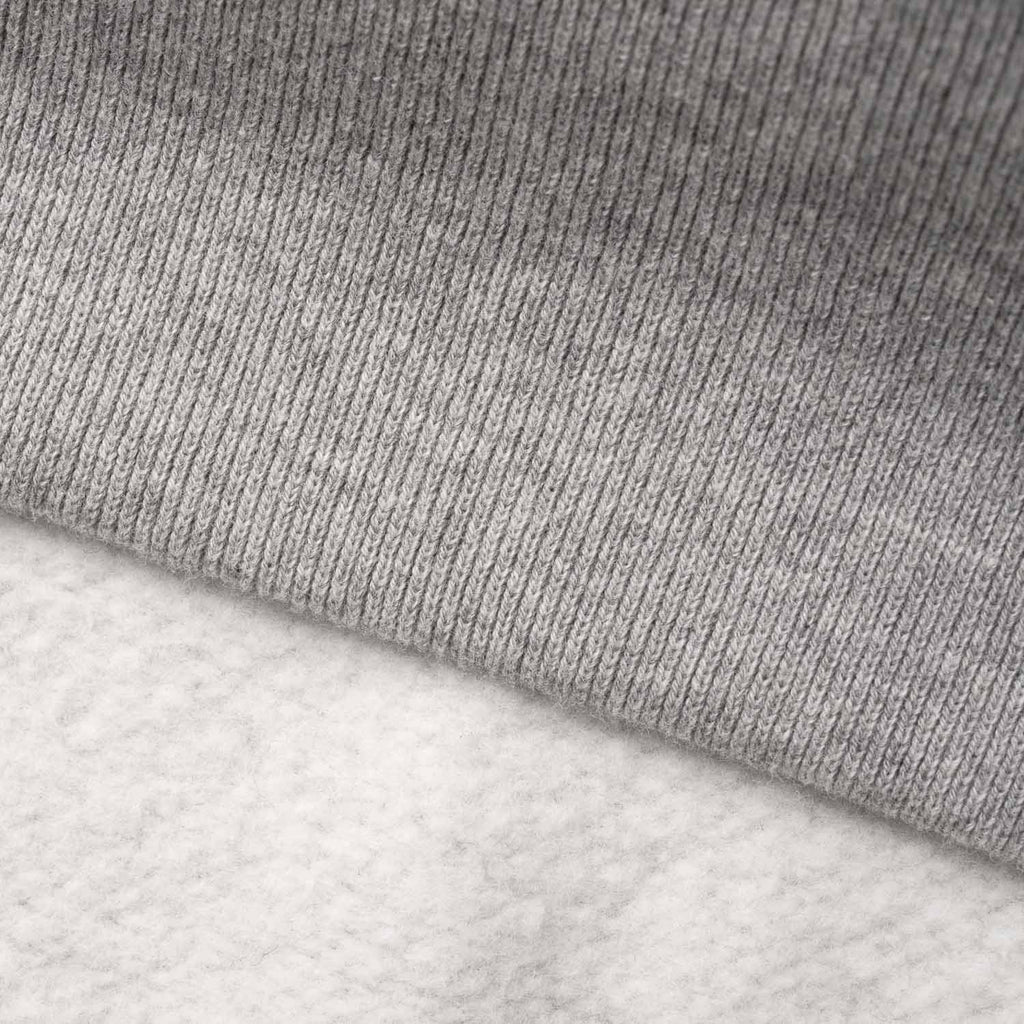 silverstick mens organic cotton hoodie ellerton ash marl brushed fabric