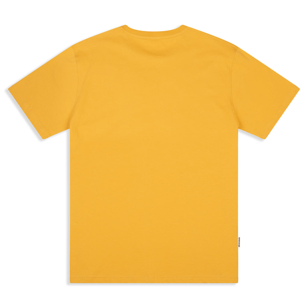 Silverstick Mens Organic Cotton T Shirt Maize Back