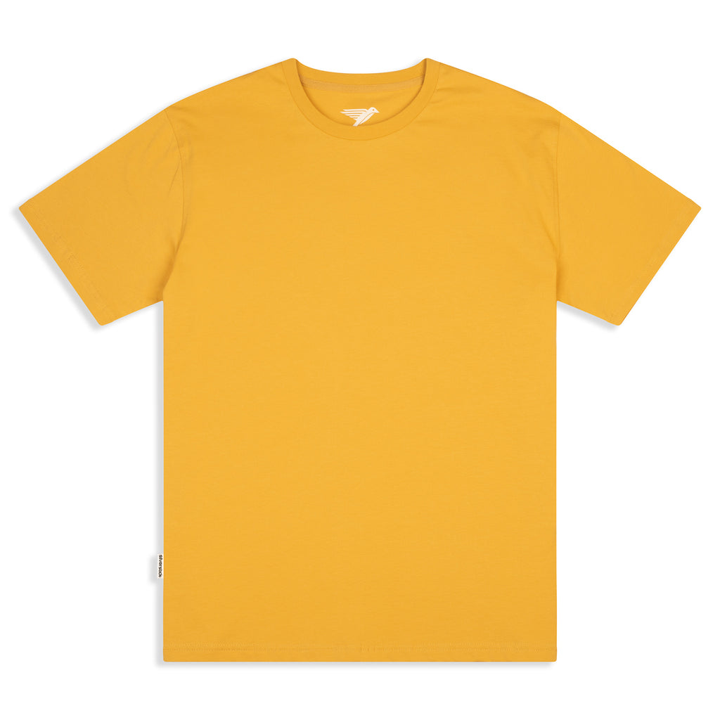 Silverstick Mens Adventure Organic Cotton T Shirt Maize Front