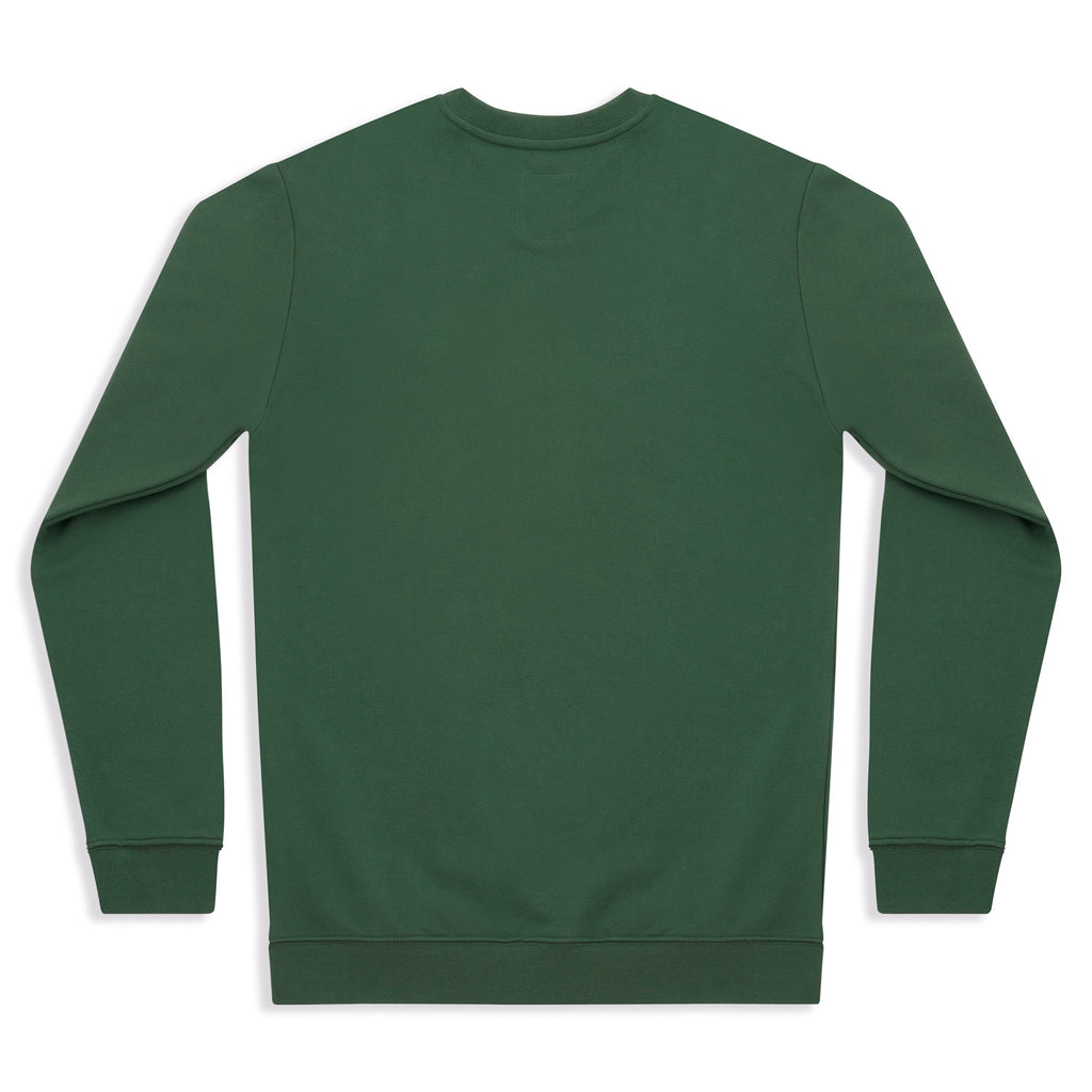 silverstick womens organic cotton sweat arugam logo greener pastures back