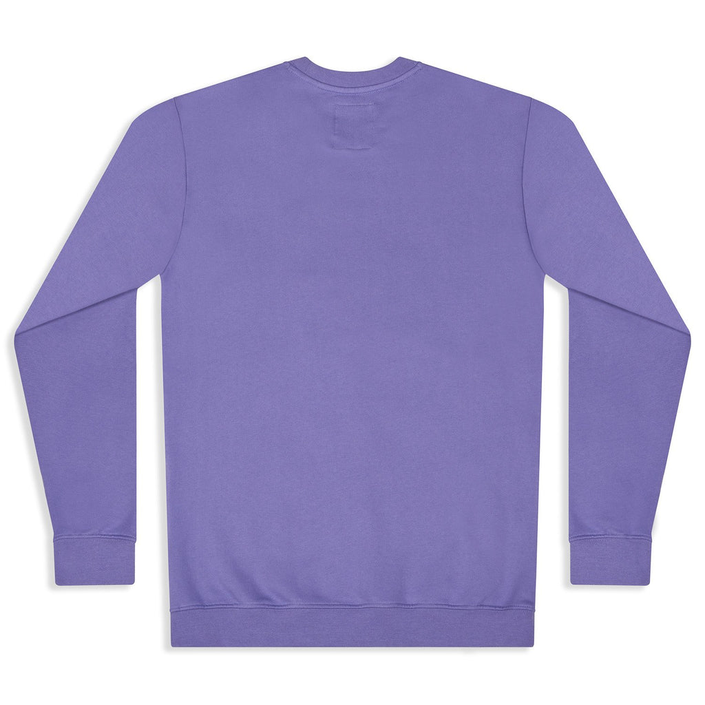 silverstick mens organic cotton sweat arugam purple back