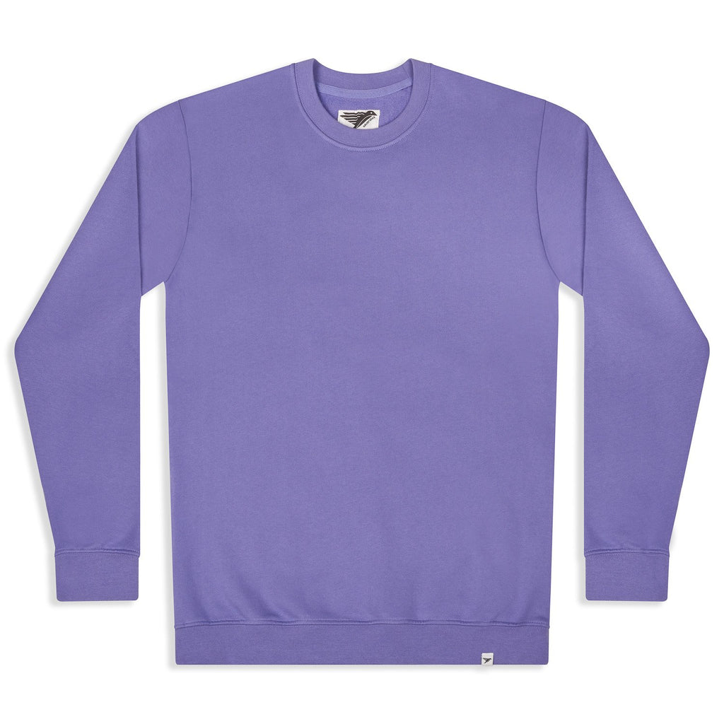 silverstick mens organic cotton sweat arugam purple front