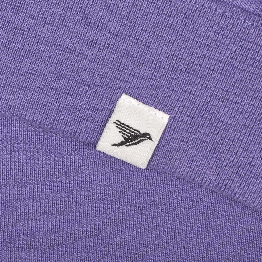 silverstick mens organic cotton sweat arugam purple hem label