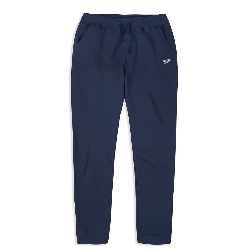 silverstick mens organic cotton johnson navy sweatpant front