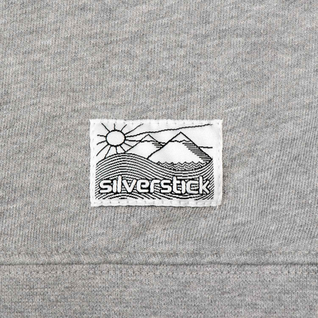 silverstick womens organic cotton sweat beau ash patch label