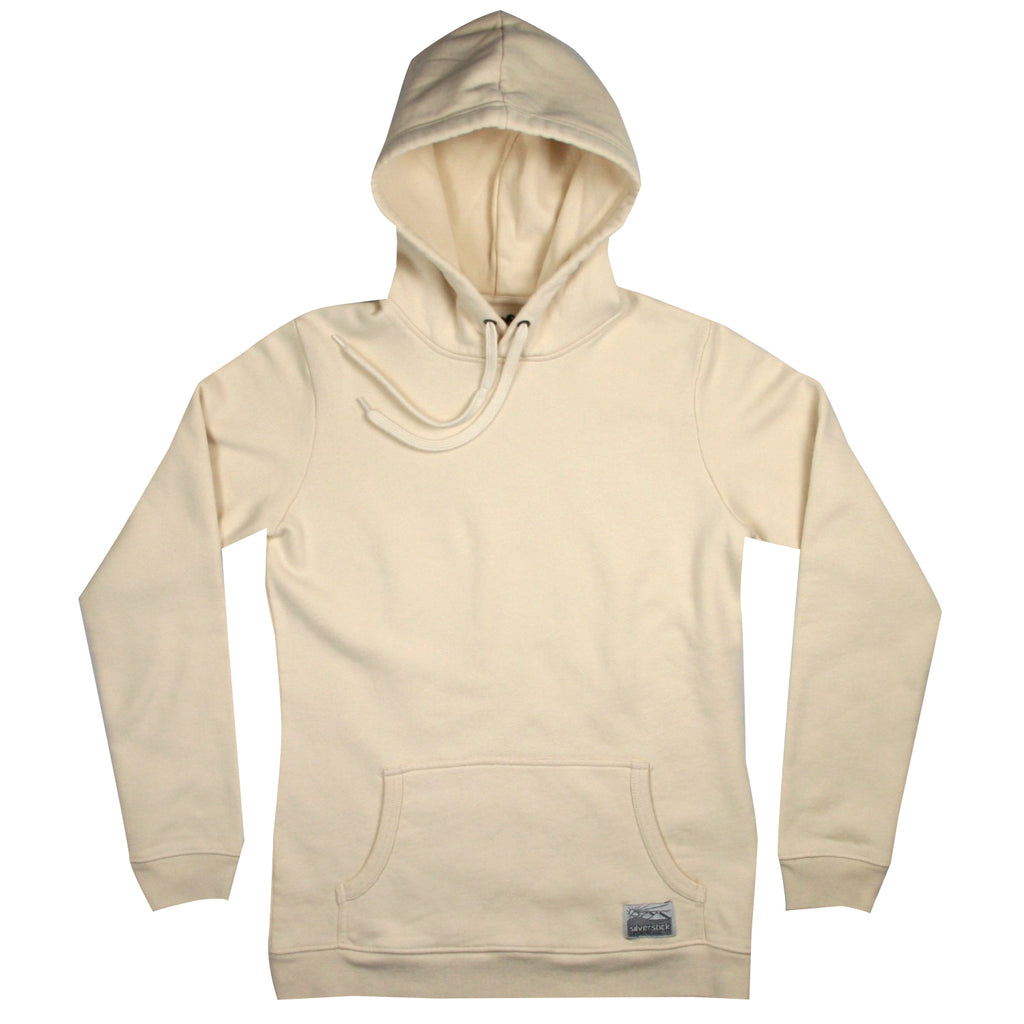 silverstick womens organic cotton hoodie lancelin natural front
