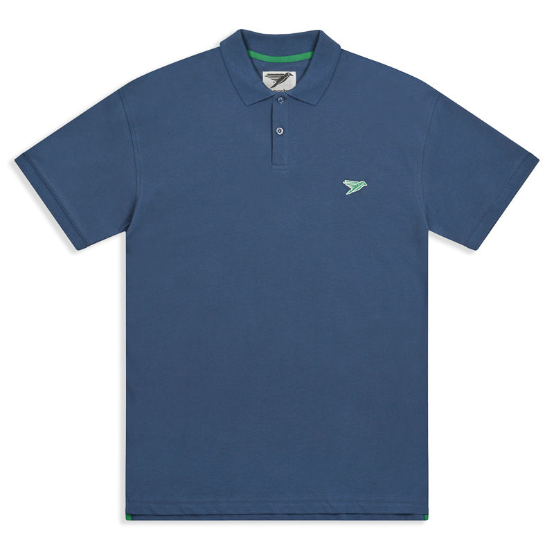 Silverstick columbus organic cotton polo shirt deep sea