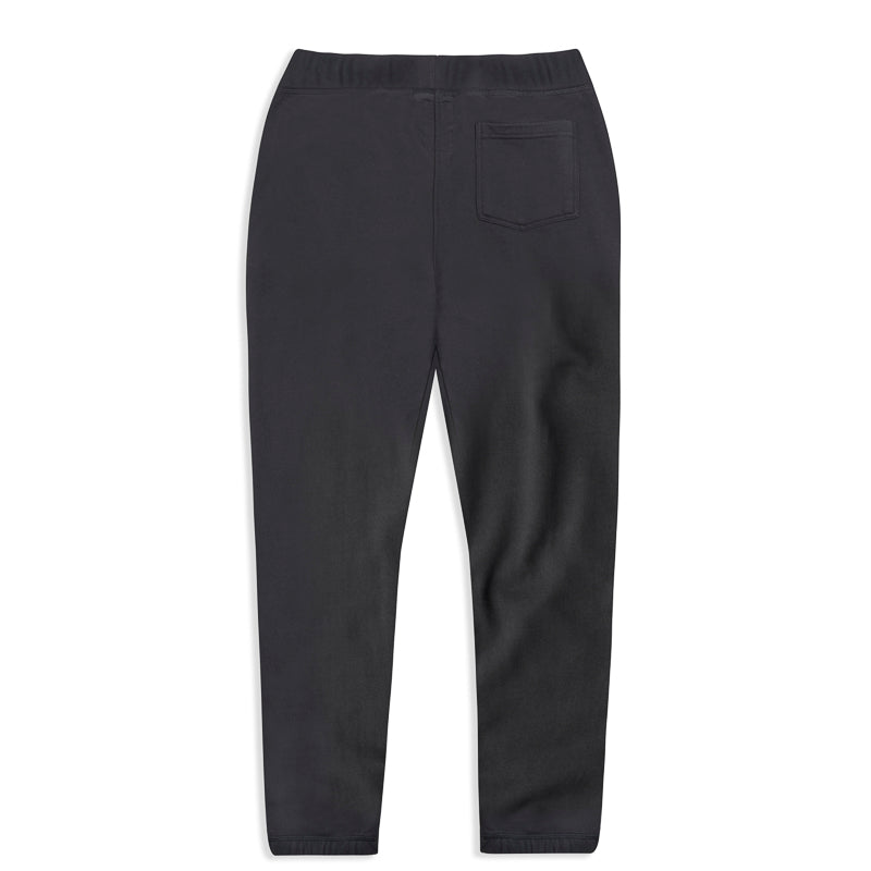silverstick womens organic cotton johnson charcoal sweatpant back
