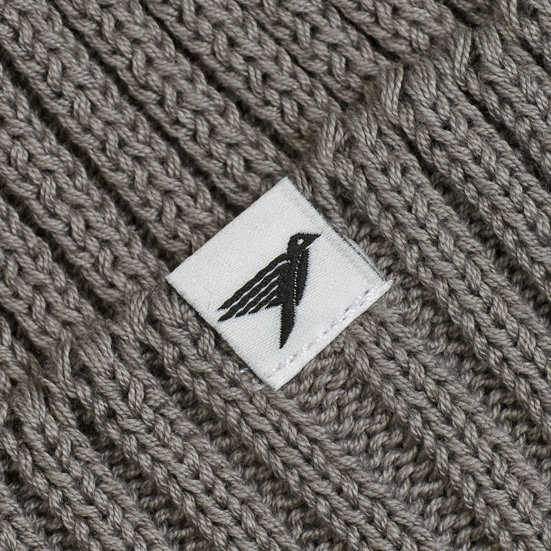 Silverstick Summit Organic Cotton Beanie Granite Label