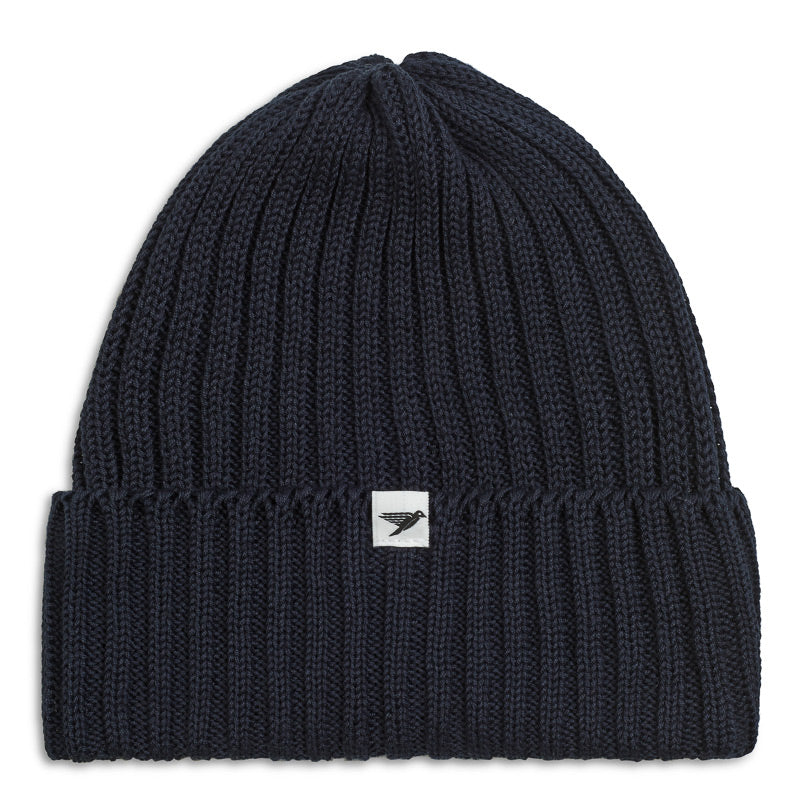 Silverstick Summit Organic Cotton Beanie Navy