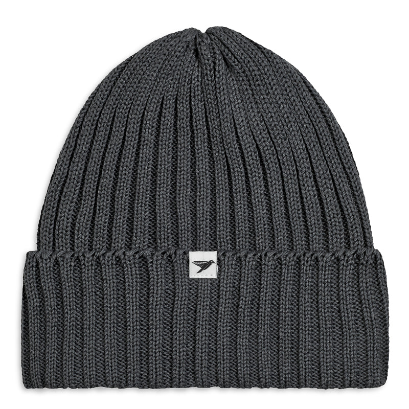 Silverstick summit organic cotton beanie slate