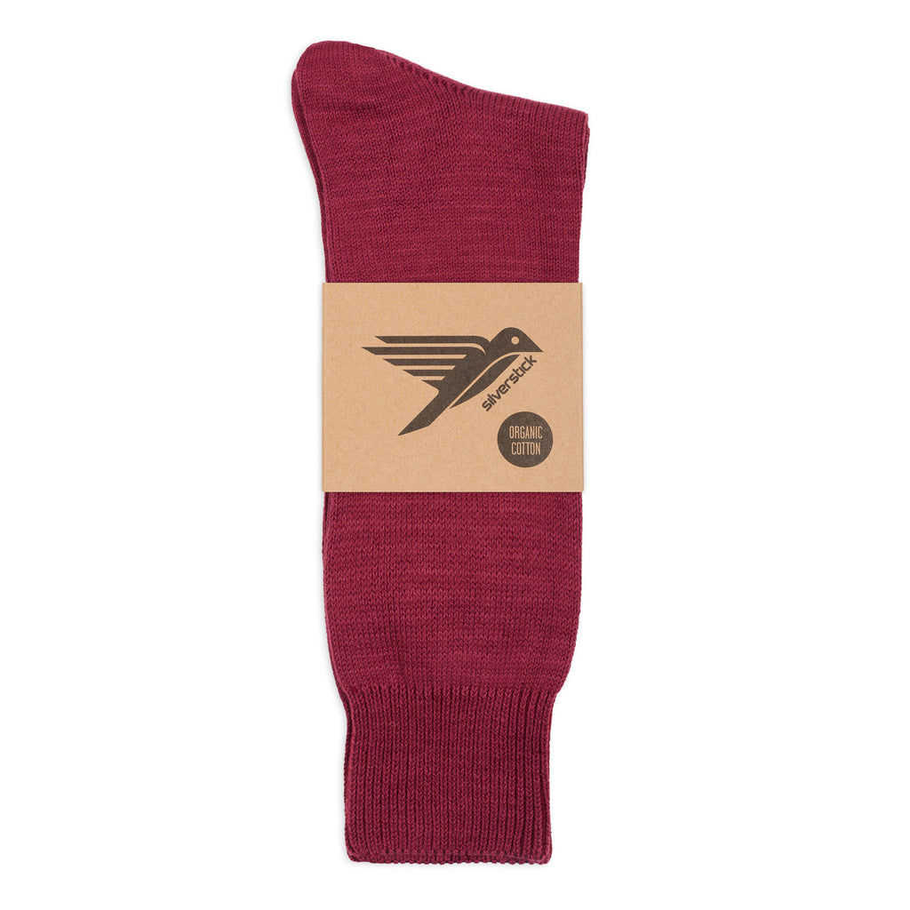 silverstick hope organic cotton sock coulis