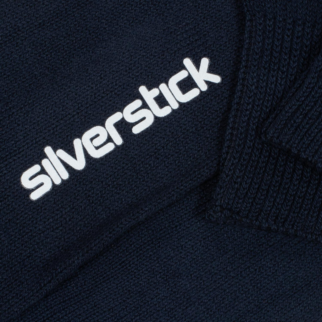 silverstick organic cotton hope navy sock branding