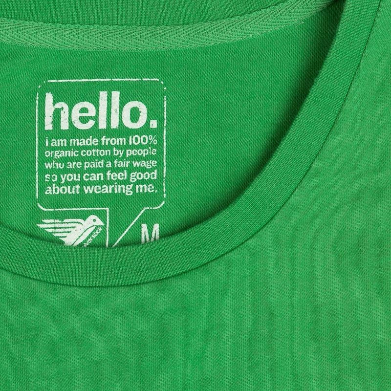 original logo tee forest green