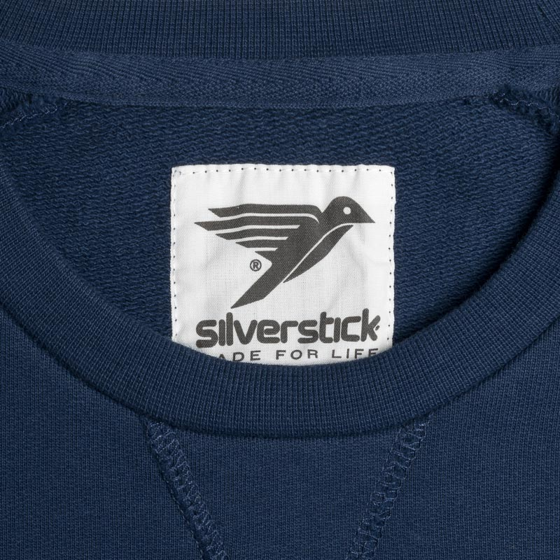 silverstick mens organic cotton nias navy sweat label