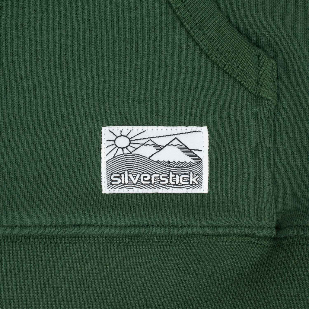 silverstick womens organic cotton hoodie lancelin greener pastures woven label