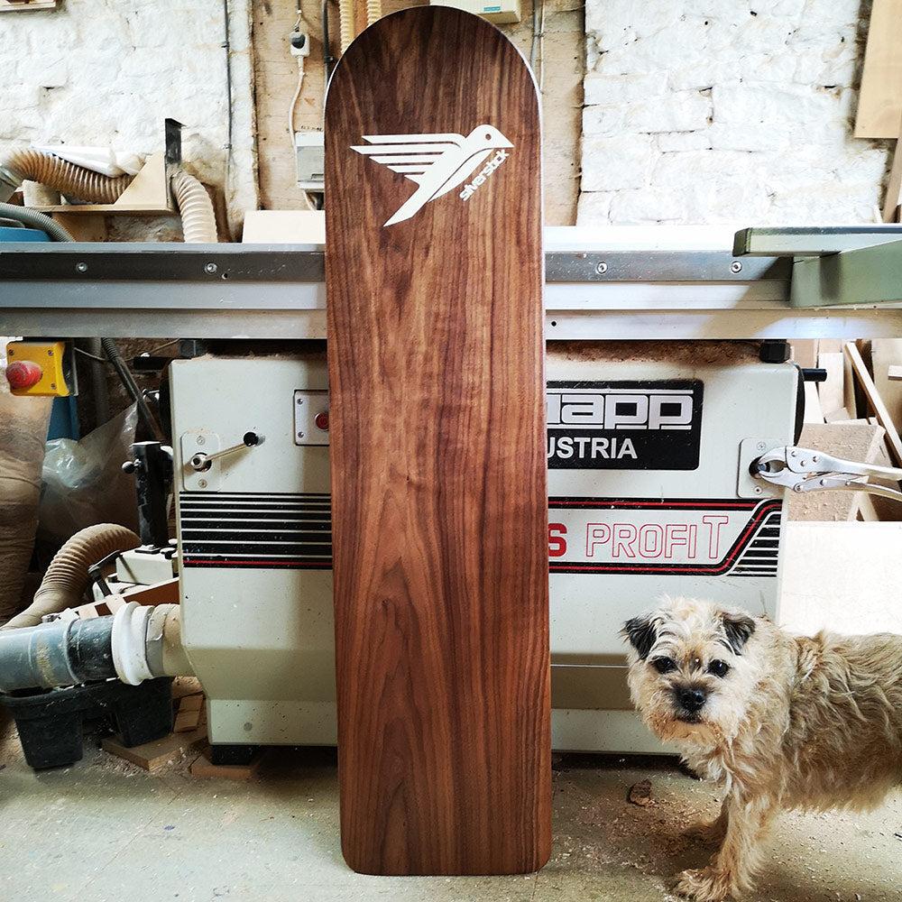 Silverstick Wooden Belly Board Finished Board