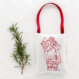 "Christmas Sachet - ""Santa Claus"" filled with lavender from Provence"