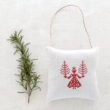 "Christmas Sachet - ""Angel"" filled with lavender from Provence"