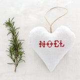 "Christmas Sachet - ""Noel"" filled with lavender from Provence"