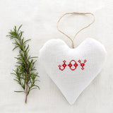 "Christmas Sachet - ""Joy"" filled with lavender from Provence"