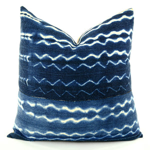 African Indigo Pillow - perfect addition to your home décor