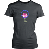 Paw Lotus 2018 Dark Ladies Crewneck Tee