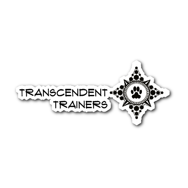 Paw Compass Transcendent Trainer Sticker